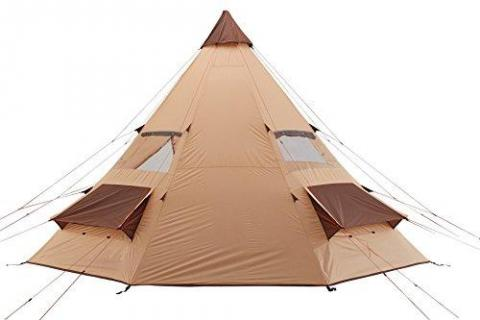 Grand Canyon Tepee - Indian tepee tent ( 8-person tent), different colors