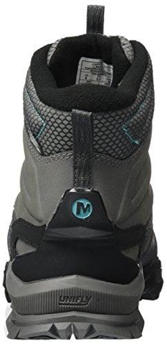 Merrell Women's Capra Glacial Ice+ Mid Waterproof High Rise Hiking Boots