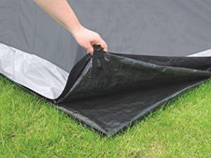 Easy Camp 180048 Palmdale 400 Unisex Outdoor  Groundsheet available in Black - 4 Persons