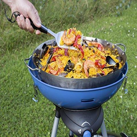 CAMPINGAZ Party Grill 600 Camping Stove - All in One portable Camping BBQ, Grill & Stove, small gas barbecue, tabletop BBQ, outdoor grill, also for caravan and balcony