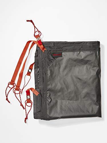 Marmot Unisex's Waterproof Footprint, groundsheet for 2 Persons Tent Superalloy 2P, Slate Grey