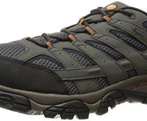 Merrell Men's Moab 2 Gtx Low Rise Hiking Boots, Grey (Beluga), 9.5 UK