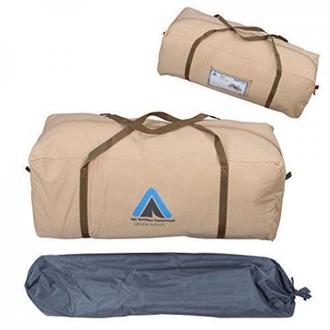10T Outdoor Equipment Desert 8Plus Tent Beige 400x 400x 250cm