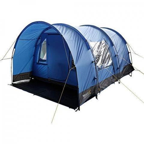 Regatta Karuna 4 Man Spacious Waterproof Dome Camping Tent Mens