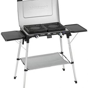 Campingaz Series Xcelerate 600 SG Double Burner with Grill and Stand Camp Stove Camping Stove and Grill - Blue