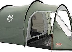Coleman Coastline 3 Plus 3 Man Tent - Green/Grey
