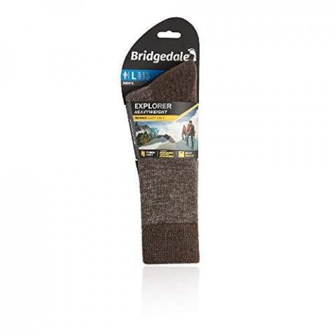 Bridgedale Men's Explorer Midweight Merino Comfort Socks