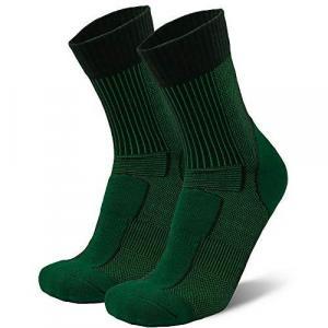 DANISH ENDURANCE Merino Wool Light Hiking & Trekking Socks 1 Pack, Men, Women, Kids, Anti-Blister