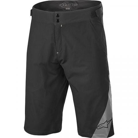 ALPINE STARS Men's Rover Plus Cycling Shorts, BLACK GREY