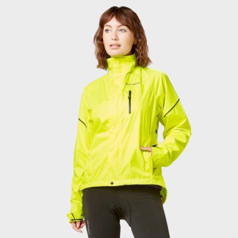 Altura Women's Nevis Waterproof High-Visibility Jacket, Yellow