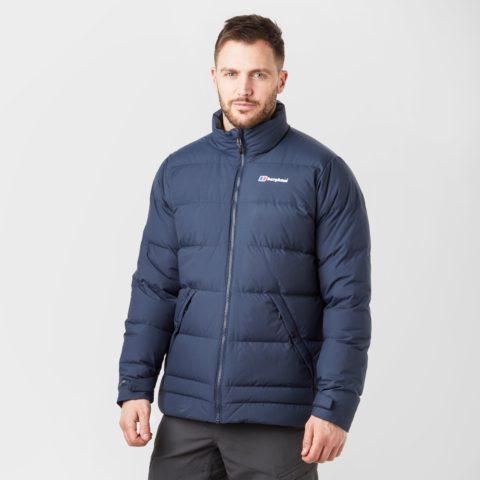Berghaus Men's Mavora Down Insulated Jacket, Navy