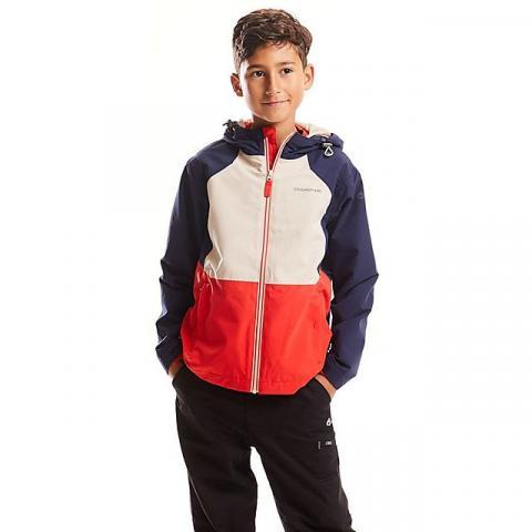 CRAGHOPPERS Kids' Amadore Waterproof Jacket