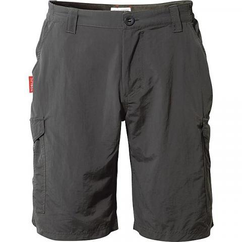 CRAGHOPPERS NosiLife Men's Cargo Shorts, BLACK