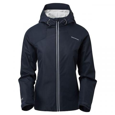 CRAGHOPPERS Women's Horizon Waterproof Jacket, NAVY