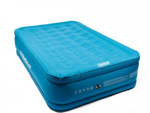 Coleman DuraRest Raised Double Airbed, Blue