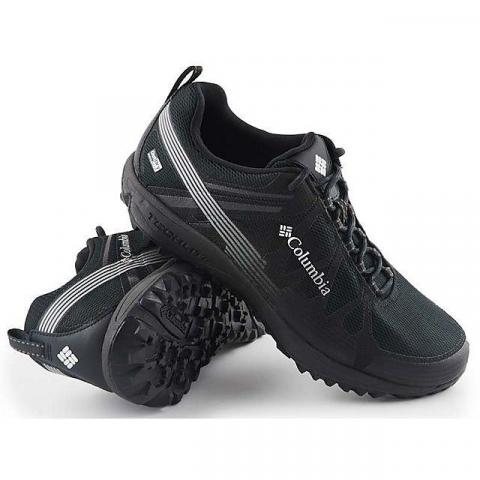 Columbia Men's Conspiracy V Outdry Walking Shoes, BLACK-LUX