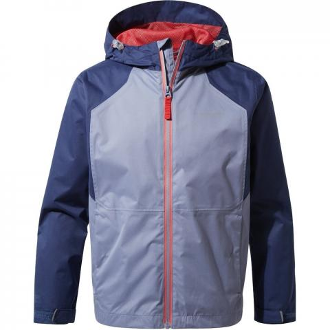 Craghoppers Boys Boys Amadore Waterproof Shell Jacket Coat 3-4 Years- Chest 21.5-22.5' (55-57cm)