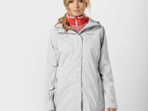 Craghoppers Women's Madigan Waterproof Jacket, Light Grey