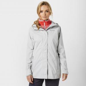Craghoppers Women's Madigan Waterproof Jacket, Light Grey