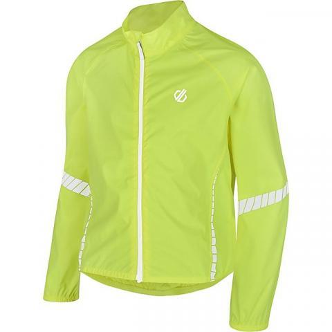 DARE 2B Kids' Cordial Waterproof Cycling Jacket, FLUORESCENT