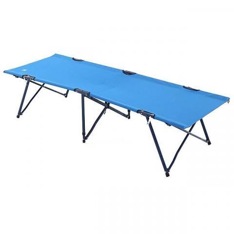 HI-GEAR Folding Camp Bed, ROYAL BLUE