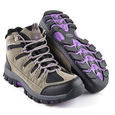 HI-GEAR Kinder II Women's Walking Boots, GREY-PURPLE