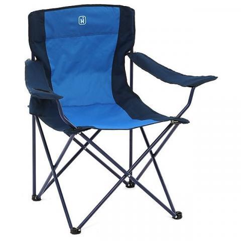 HI-GEAR Maine Camping Chair, ROYAL BLUE