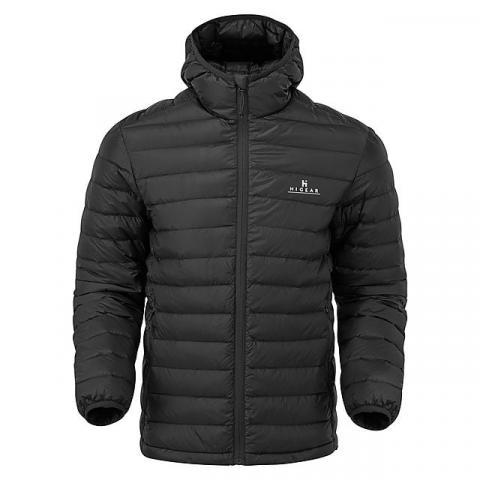 HI-GEAR Men's Packlite Alpinist Down Jacket, BLACK