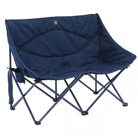 HI-GEAR Vegas Double Chair, NAVY