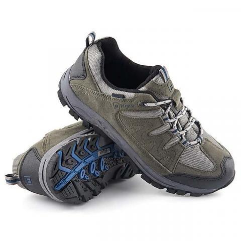 HI-GEAR Winhill II Men's Walking Shoes, DARK GREY-BLUE