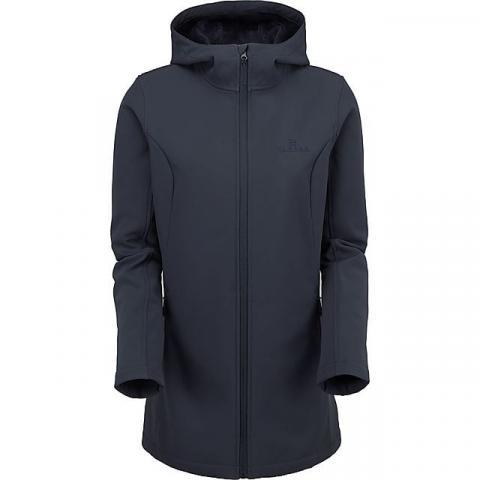 HI-GEAR Women's Longline Softshell Jacket, NAVY