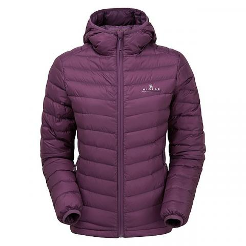 HI-GEAR Women's Packlite Alpinist Down Jacket, PURPLE