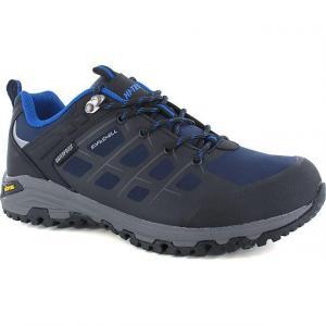 HI TEC Men's V-LITE Velocity Low WP Walking Shoes, NAVY