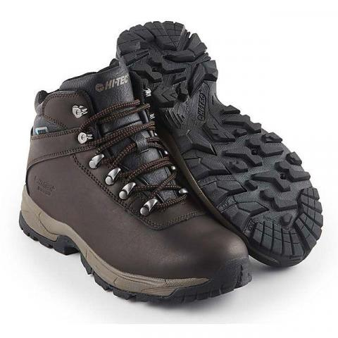 HI TEC Women's Eurotrek Lite Walking Boots, DARK CHOCOLATE