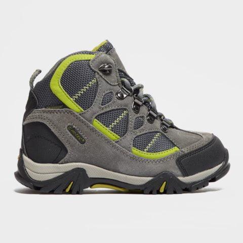 Hi Tec Boy's Renegade Waterproof Walking Boots, Grey