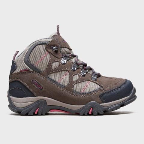 Hi Tec Girl's Renegade Waterproof Walking Boots, Brown