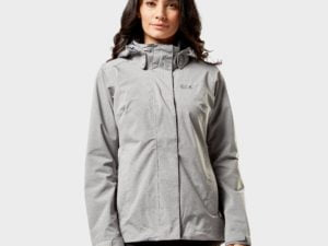 Jack Wolfskin Women's Paradise Valley Jacket, Grey