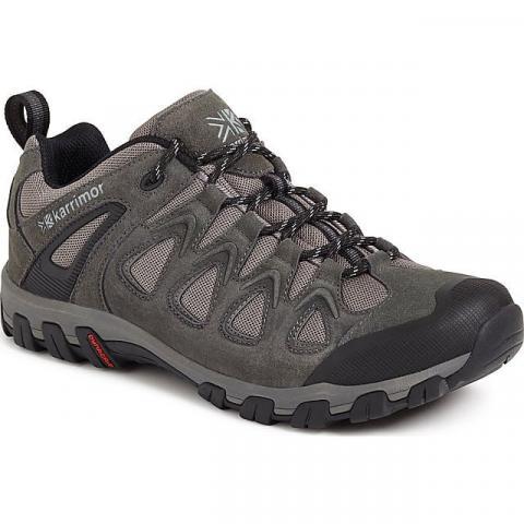 KARRIMOR Men's Supa 5 Low Walking Shoes, DARK GREY
