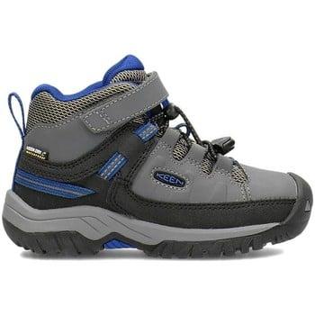 Keen Targhee Mid WP boys's Children's Walking Boots in Grey. Sizes available:Kid 8,Kid 9,Kid 11,Kid 12