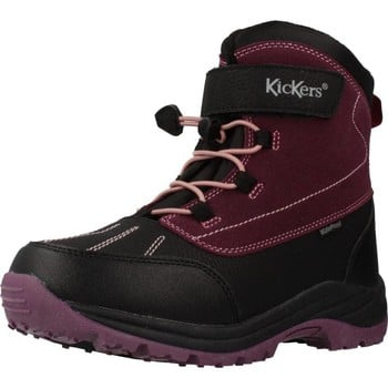 Kickers 736600 girls's Children's Walking Boots in Purple. Sizes available:5,12.5,13.5,11.5 kid,15