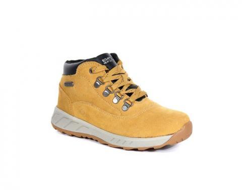 Kids' Grimshaw Mid Walking Boots Spruce Yellow