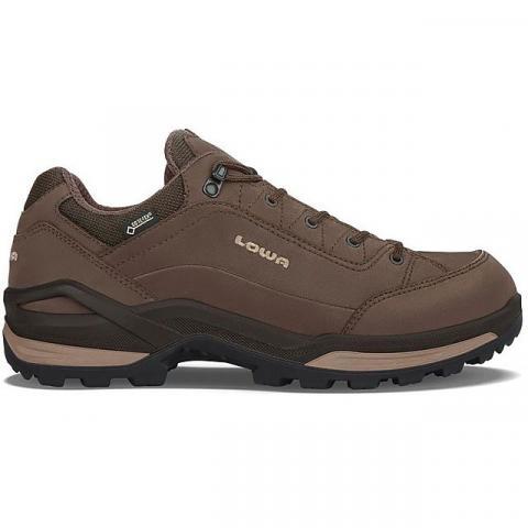 LOWA Men's Renegade GTX Lo Walking Shoes, ESPRESSO-BIEGE