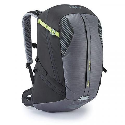 LOWE ALPINE AirZone Velo 30 Cyclist Backpack, BLACK