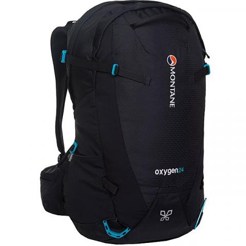 MONTANE Women's Oxygen 24 Daypack SM, BLACK