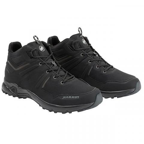 Mammut Men's Ultimate Pro Mid GORE-TEX Hiking Shoes, BLACK BLACK