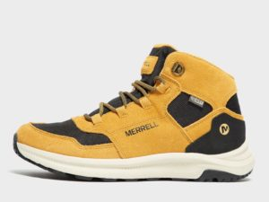 Merrell Kids' Ontario Mid Walking Boot, Yellow