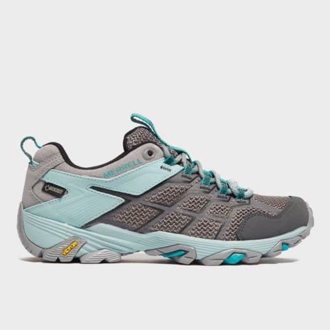 Merrell Women's Moab FST 2 GORE-TEX Shoes - Grey, Grey