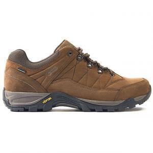 NORTH RIDGE Men's Luxor Low 2 Waterproof Walking Shoes, DARK BROWN