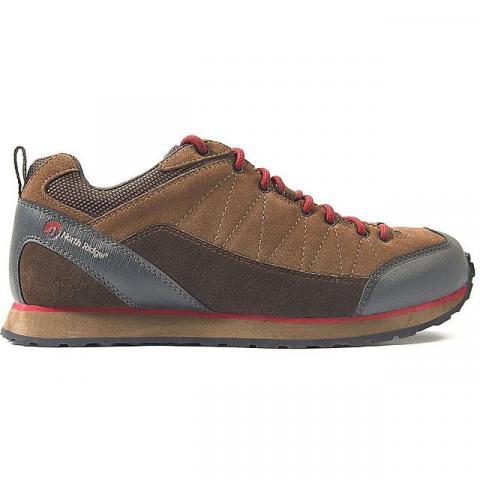 NORTH RIDGE Men's Quarry Approach Shoe, BROWN RED