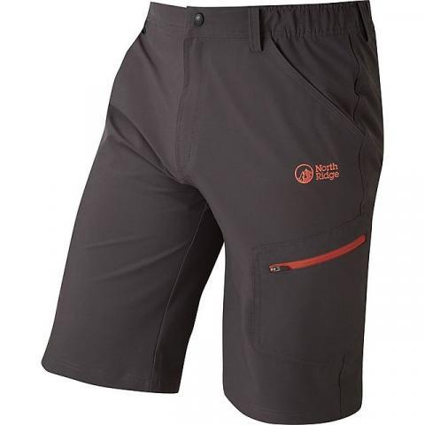 NORTH RIDGE Men's Yangon Shorts, BLACK